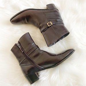 Salvatore Ferragamo Vintage Narrow Ankle Boots